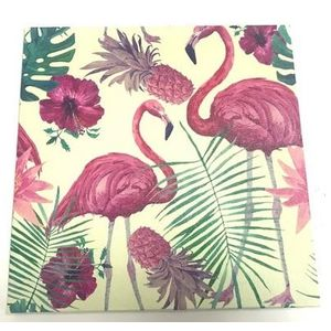 Quadro-Flamingo-Tropical